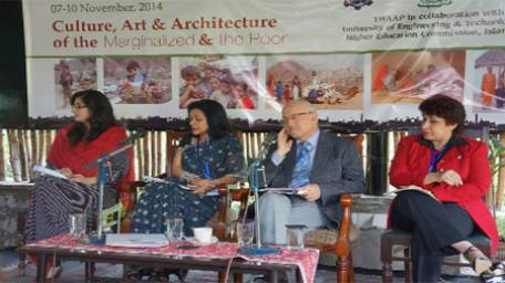 5th international thaap conference Call for raising awareness on art, culture and architecture of marginalised groups