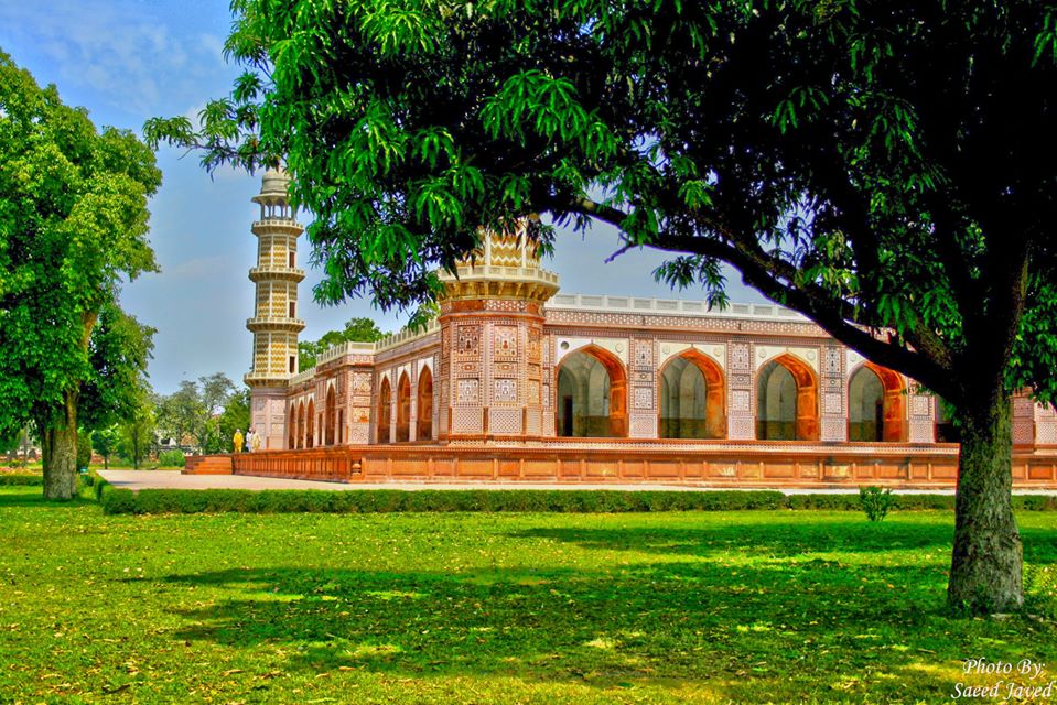 Garden of Jahangir's Tomb